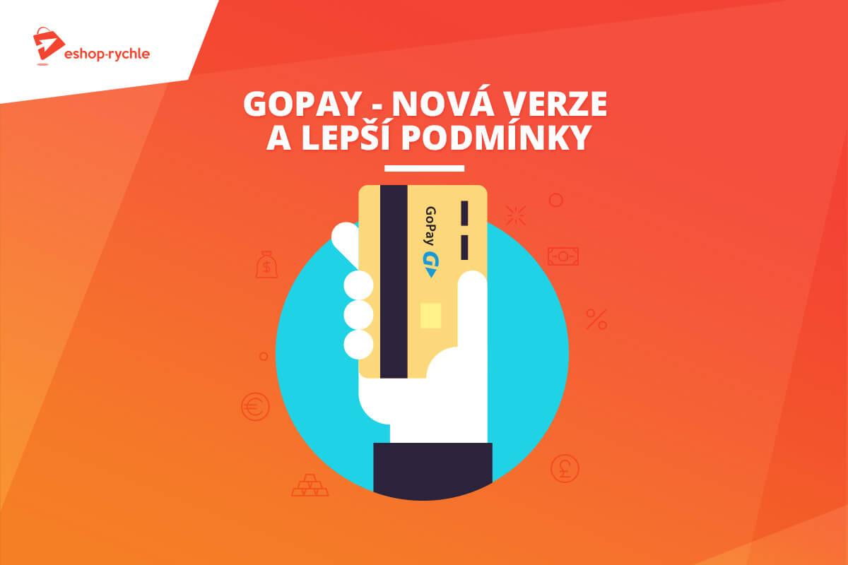 Šetříme e-shopařům peníze: Nová verze platební brány GoPay kdispozici