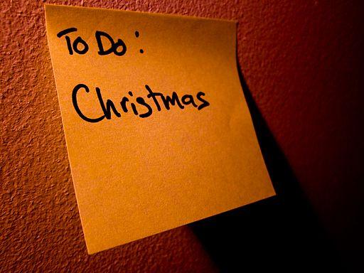 Seznam úkolů: Vánoce