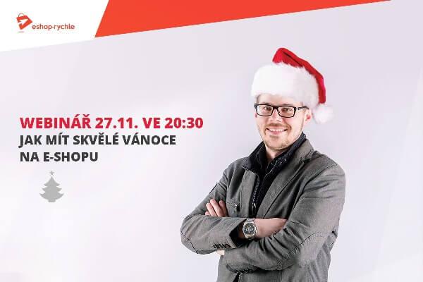 Vánoční webinář Daniela Višňáka pro Eshop-rychle