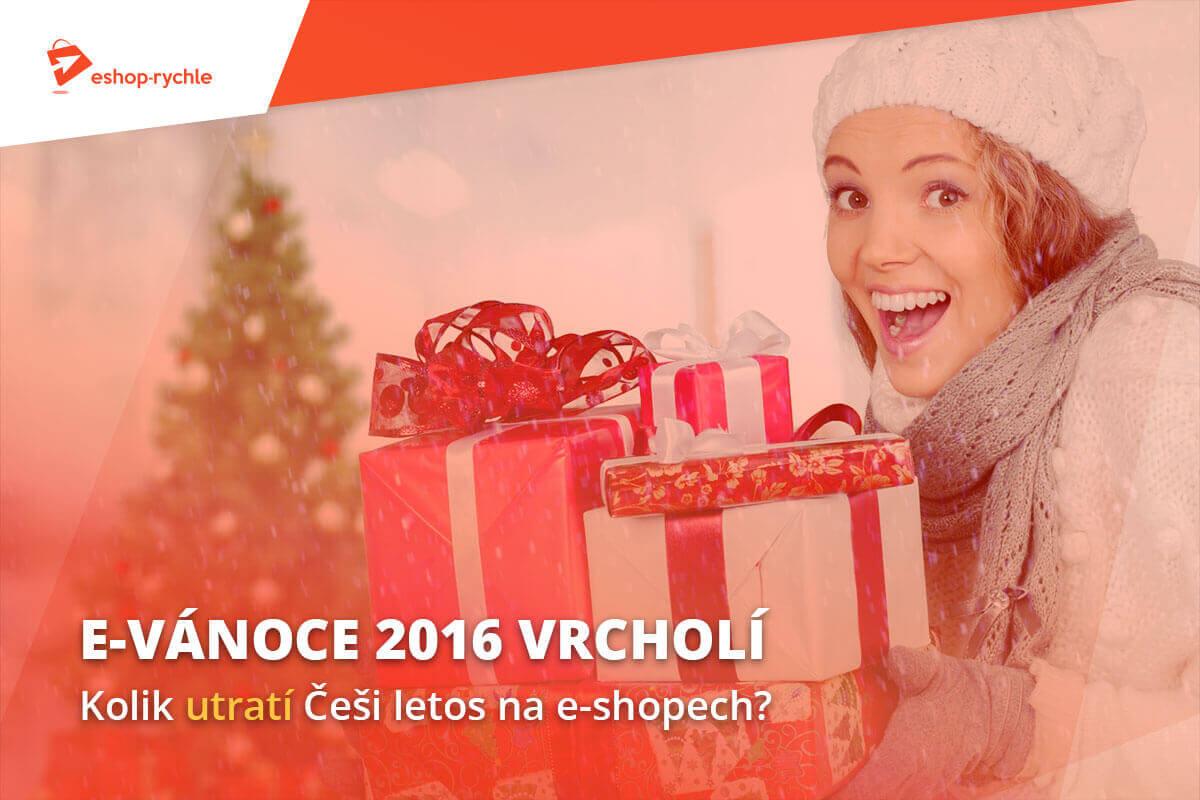E-Vánoce 2016 vrcholí. Kolik utratí Češi letos na e-shopech?