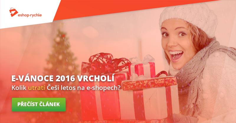 Vánoce na e-shopech