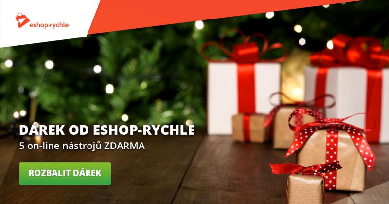 5 online nástrojů zdarma - Vánoční dárek od Eshop-rychle