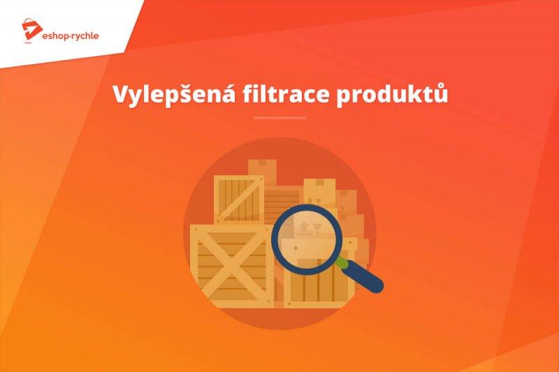 Vylepšená filtrace produktů