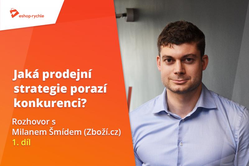 Milan Šmíd - manažer Zboží.cz