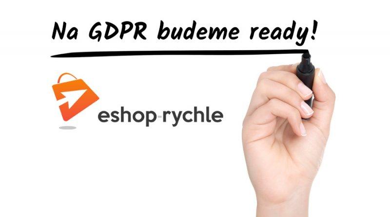 nařízení gdpr a eshopy
