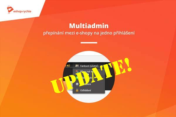 Multiadmin – další várka úprav