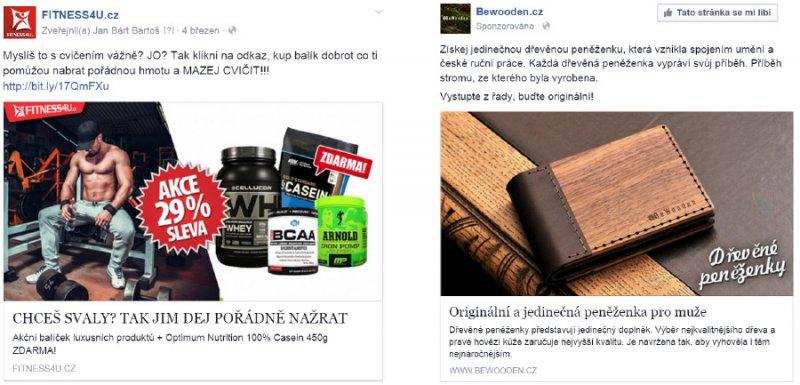 Facebook reklama pro eshop