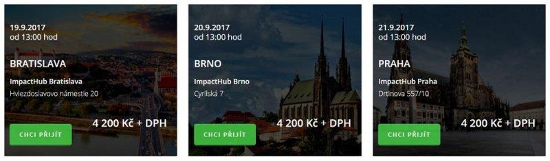 Termíny a cena školení Facebook - Honza Bartoš