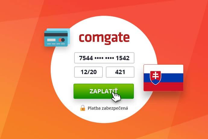 Platební brána ComGate pro slovenské e-shopy