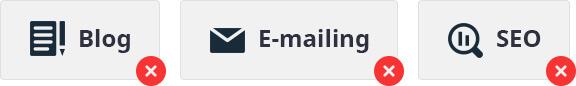 Nevhodné typy propagace pro začínající e-shop