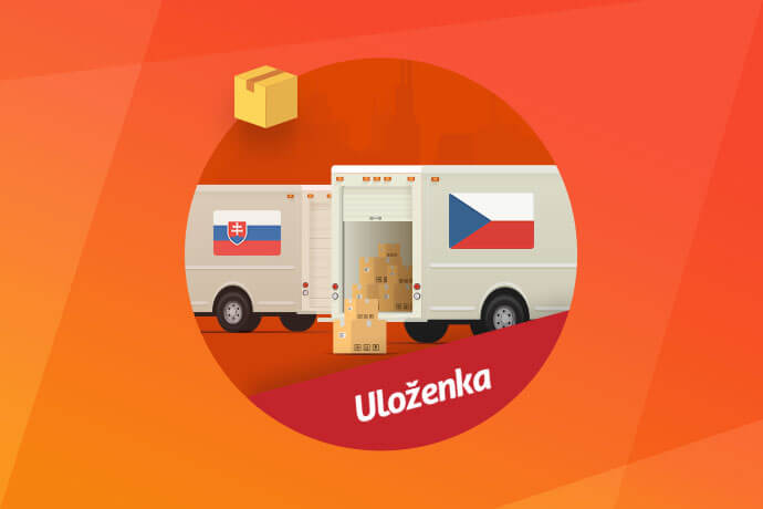 Uloženka – samostatný modul pro ČR a Slovensko