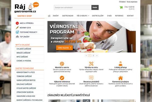 Lukáš Dubina - redesign e-shopu Gastro Levně