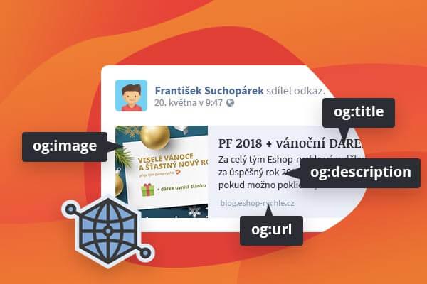 """""""Hezké sdílení"""" stránek e-shopu na Facebooku – Open Graph tagy"""