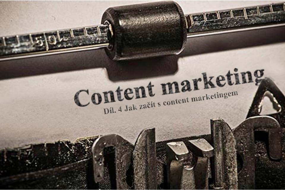 Content marketing vizualizace