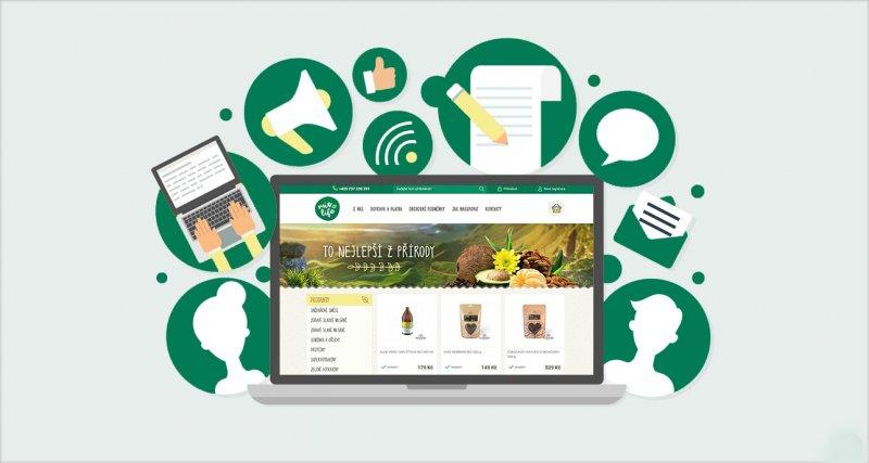 Content marketing vizualizace