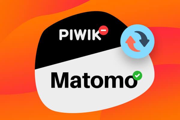 Upgrade Piwiku na novou verzi pod názvem Matomo