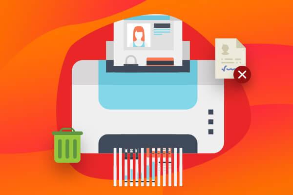 Automatické mazání osobních údajů v e-shopu