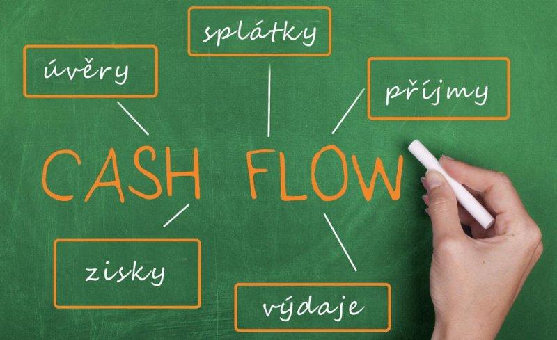 cash flow ilustrace