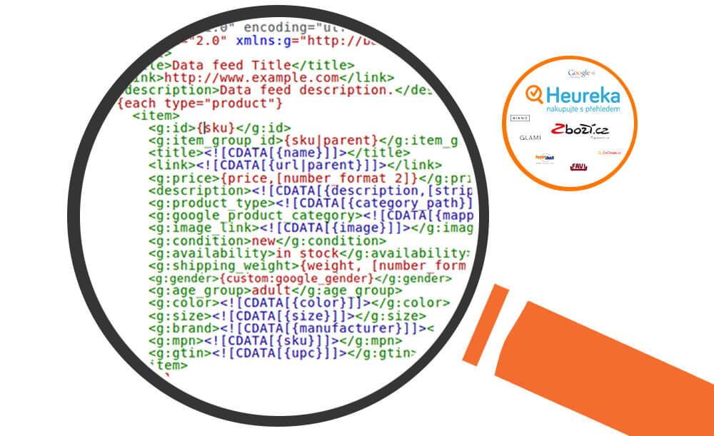 Zbožové srovnávače XML feed