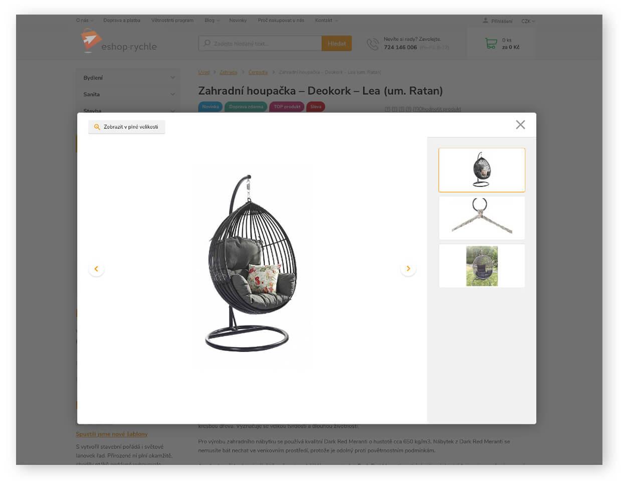 Galerie obrázků produktu