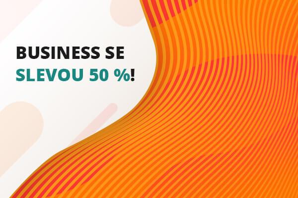 Vyzkoušejte si tarif Business na měsíc za 50 % nebo dokonce úplně zdarma!