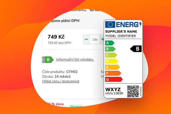 Prodáváte elektro? Využijte novou funkci Energetické štítky!