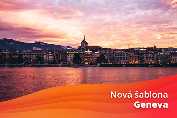 Nová šablona Geneva: Elegantní a nadčasová!
