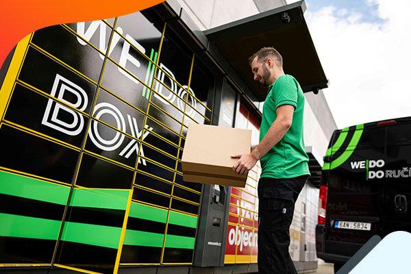 Nový český přepravce WE|DO doručí zásilky včas a bezpečně, nyní nově s dopravou do boxů za 1 Kč!